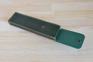 画像4: スマートなペンケース イタリアンレザー カラーオーダーメイド