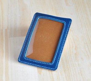 画像3: シンプルな3層パスケース イタリアンレザー カラーオーダーメイド