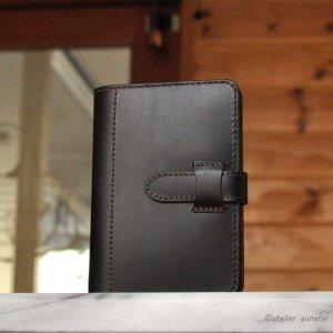画像2: バインダーリングのシステム手帳 ポケットミニ6穴サイズ イタリアンレザー カラーオーダーメイド